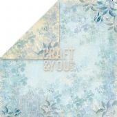 Craft & You 12x12 Scrapbook Paper - Spring Garden 01 - SG01